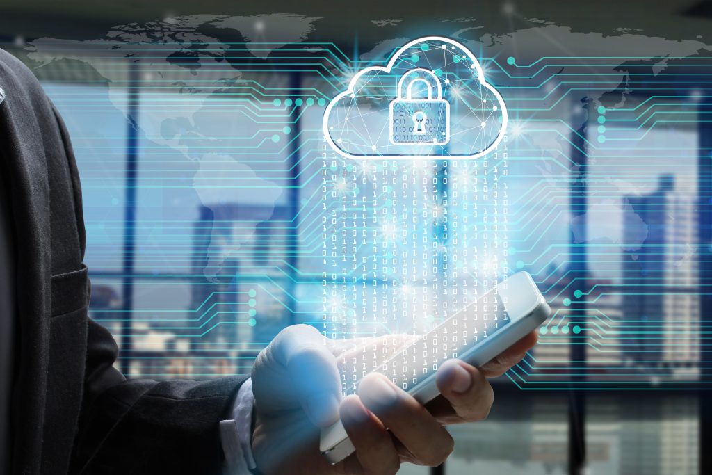 Showing data privacy in the cloud